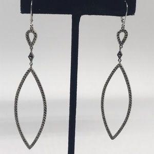 925 sterling ✨silver Dangle Judith jack earrings